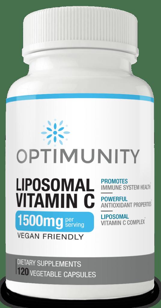 Optimunity Liposomal Vitamin C Bottle